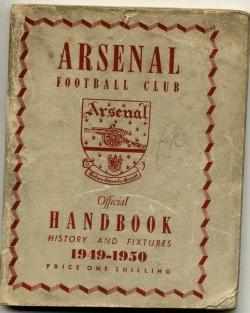 Arsenal Handbook 1949-1950