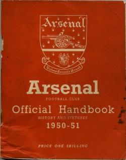 Arsenal Handbook 1950-1951