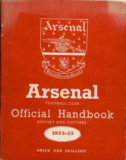 Arsenal Handbook 1952-1953