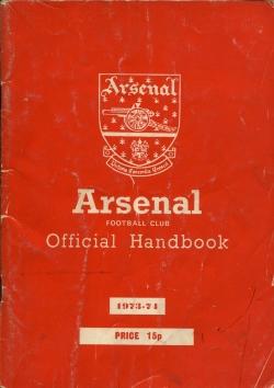 Arsenal Handbook 1973-1974