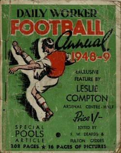 Daily Worker Football Annual 1948-1949