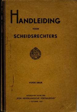 Handleiding Scheidsrechters - uitgave 1947