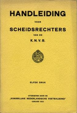 Handleiding Scheidsrechters - uitgave 1963