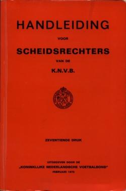 Handleiding Scheidsrechters - uitgave 1973
