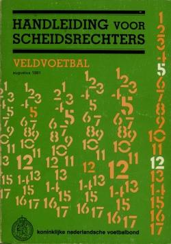 Handleiding Scheidsrechters - uitgave 1981
