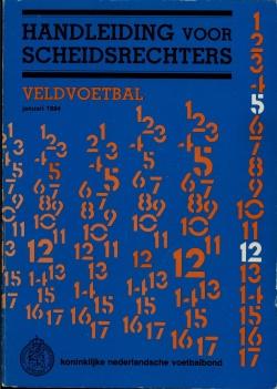 Handleiding Scheidsrechters - uitgave 1984