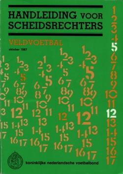 Handleiding Scheidsrechters - uitgave 1987