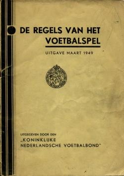 De Regels van het Voetbalspel - uitgave 1949