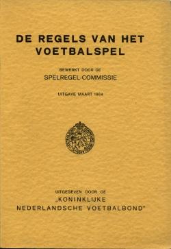 De Regels van het Voetbalspel - uitgave 1964