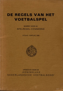 De Regels van het Voetbalspel - uitgave 1969
