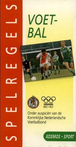 Spelregels voetbal - uitgave 1994