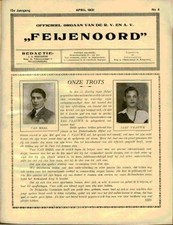 De Feijenoorder april 1931