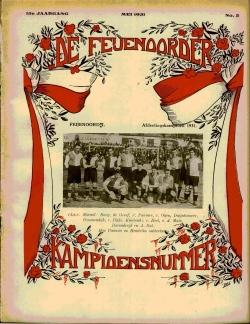 De Feijenoorder Mei 1931 - kampioensnummer