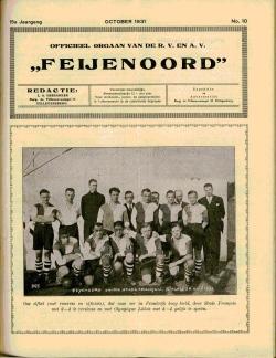 De Feijenoorder Oktober 1931