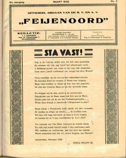 De Feijenoorder Maart 1932
