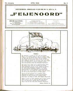 De Feijenoorder April 1932