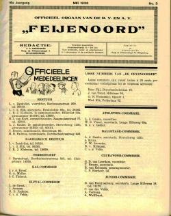 De Feijenoorder Mei 1932