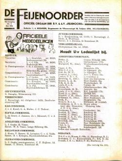 De Feijenoorder Mei 1934