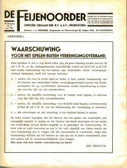 De Feijenoorder Juni 1934