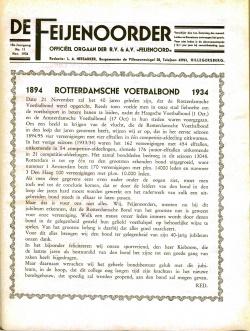 De Feijenoorder November 1934