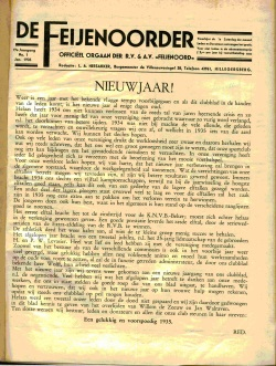 De Feijenoorder Januari 1935