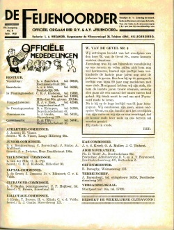 De Feijenoorder Februari 1935