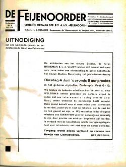 De Feijenoorder Juni 1935