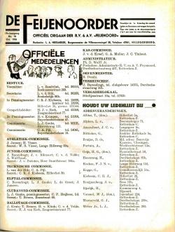 De Feijenoorder Oktober 1935