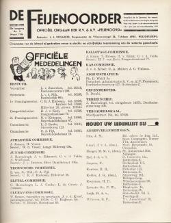 De Feijenoorder Maart 1936
