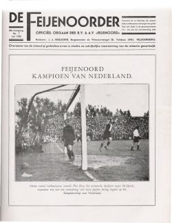 De Feijenoorder Juli 1936