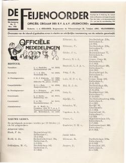 De Feijenoorder November 1936
