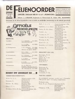 De Feijenoorder December 1936