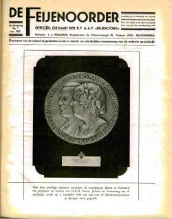 De Feijenoorder Januari 1937