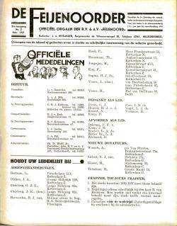 De Feijenoorder Februari 1937