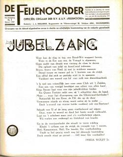 De Feijenoorder Maart 1937