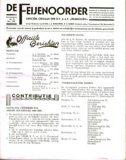 De Feijenoorder December 1937