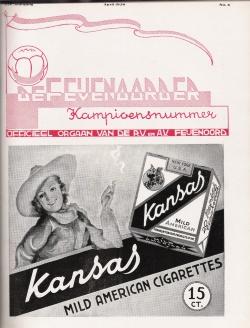 De Feijenoorder April 1938