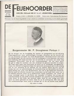 De Feijenoorder Oktober 1938