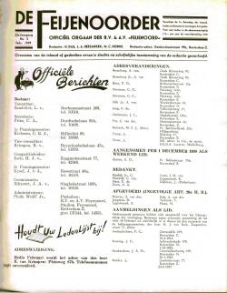 De Feijenoorder Februari 1939