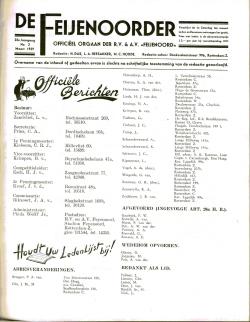 De Feijenoorder Maart 1939