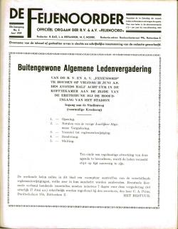 De Feijenoorder Juni 1939