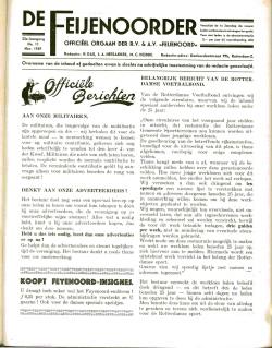 De Feijenoorder November 1939