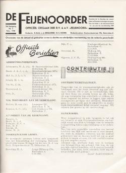 De Feijenoorder Februari 1940
