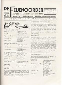 De Feijenoorder April 1940