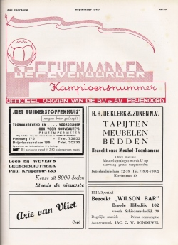 De Feijenoorder September 1940