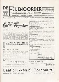 De Feijenoorder Oktober 1940