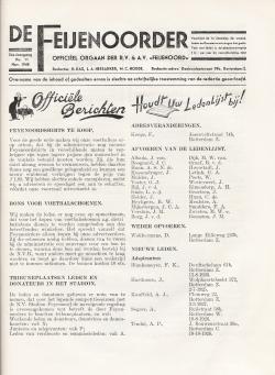 De Feijenoorder November 1940