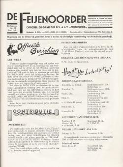 De Feijenoorder December 1940