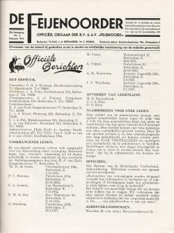 De Feijenoorder Februari 1941