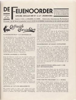 De Feijenoorder Mei 1941